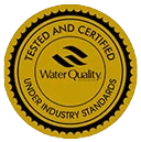Water Quality - Tested and certified