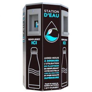 Station d'eau